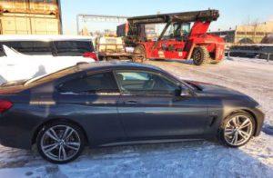 Экспорт автомобилей BMW из России в контейнерах
